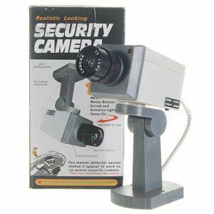Dummy-kamera m. Bevægelsessensor