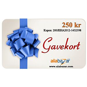 Gavekort 100-1.000 kr