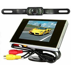 Bak-kamera til bilen, sæt