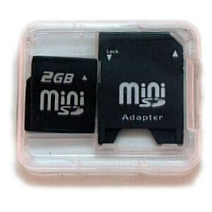 2GB Mini SD Memory Card