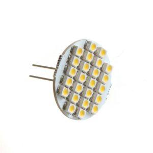 G4 LED 1.9W 155lm varm hvid, flad (2stk)