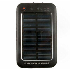 Solar-lader 150mA m. batteri 2600mAh
