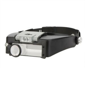 Lupbriller 1.5X-3X-8.5X-10X LED