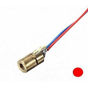 Laser diode, 6mm, rød