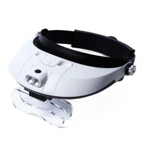 Lupbriller 1.0-6.0x m. LED-lys