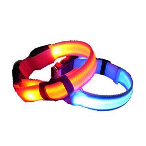 LED Hundehalsbånd, 5 farver, Small