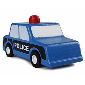 Træbil - Politibil