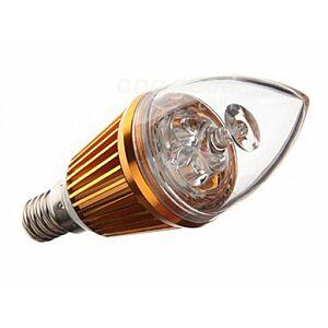 LED E14 Pære, 3.0W