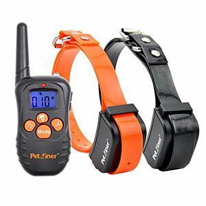 PET998N-DUO Remote Dog Training Collar, Rechargeable