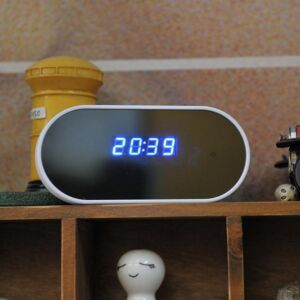 T-Care  Z6 Vækkeur HD Spionkamera, Wi-Fi