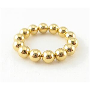 Neodymium Magnet Balls, Golden, 4.7mm