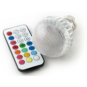 LED-pære, 2 mio. farver, fjernbetjent