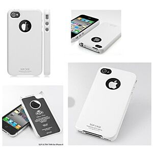iPhone 4 SGP Ultraslankt Hard Cover