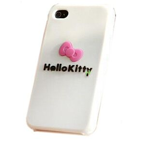 iPhone 4 Cover, HelloKitty