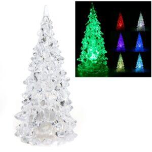 Farverigt LED Juletræ