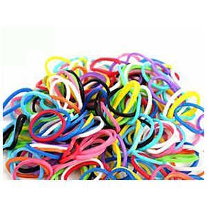 Loom Bands Mix, 600 stk.