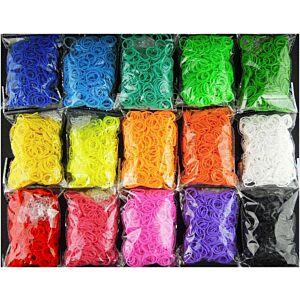 Loom Bands, vælg mellem 15 farver