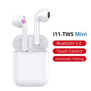 i11 TWS Bluetooth høretelefoner - Touch-version