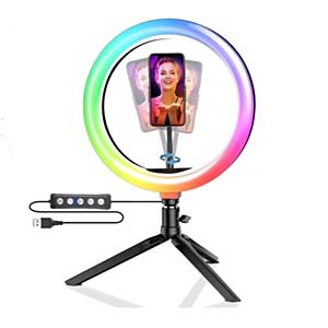 RGB Ringlys, 26cm + tripod