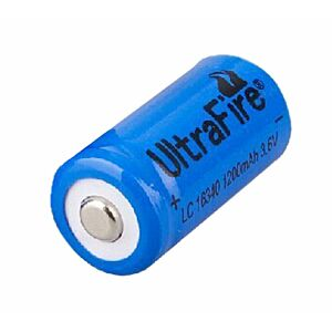 UltraFire 16340/RC123A