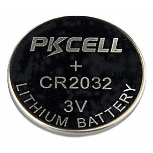 CR2032 Lithium, PKCell