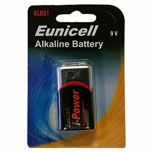 6LR61 9V Alkaline Eunicell