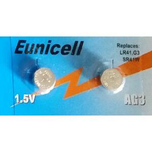 AG3/LR41 Alkaline Eunicell